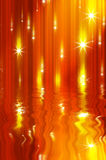 Glittering stars blurred Royalty Free Stock Image