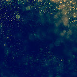 Glittering stars on bokeh background. Texture Stock Photography