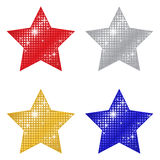 Glittering Stars Stock Photography