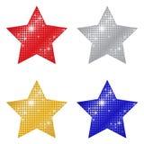 Glittering Stars Stock Photography