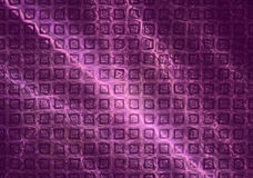 Glittering violet velvet abstract 3D background Stock Image
