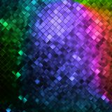 Glitters on a soft blurred background. EPS 10 Stock Images