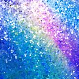 Glitters on a soft blurred background. EPS 10 Royalty Free Stock Photos