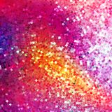 Glitters on a soft blurred background. EPS 10 Royalty Free Stock Photography
