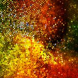 Glitters on a soft blurred background. EPS 10. Glitters on a soft blurred background with smooth highlights. EPS 10 vector file included Royalty Free Stock Images