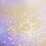 Glitters on a soft blurred background. EPS 10 Stock Image