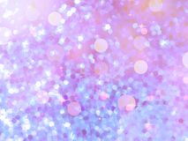 Glitters on a soft blurred background. EPS 10 Royalty Free Stock Photo