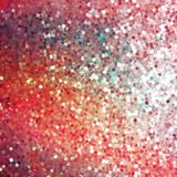 Glitters on a soft blurred background. EPS 10 Stock Photo