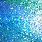 Glitters on a soft blurred background. EPS 10 Royalty Free Stock Images