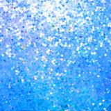 Glitters on a soft blurred background.  Stock Photos