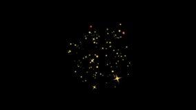 Glitters stars stock video