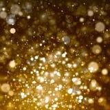 Glittery świąteczny abstrakcjonistyczny tło Zdjęcia Stock