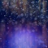 Glittery świąteczny tło Zdjęcia Royalty Free