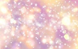 Glittery праздничная предпосылка Стоковое Фото