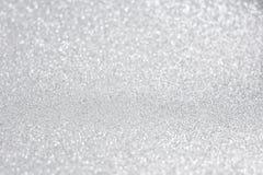 Glittery сияющая предпосылка конспекта серебра светов стоковая фотография