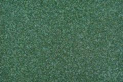 Glittery текстура Зеленая бумага яркого блеска Стоковое фото RF