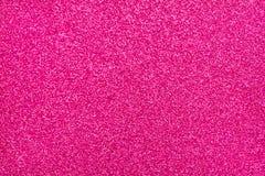 Glittery текстура Розовая бумага яркого блеска Стоковая Фотография RF