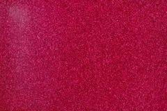 Glittery текстура Розовая бумага яркого блеска Стоковые Фотографии RF