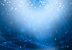 Glittery abstract background. Beautiful  festive illustration,  background  bokeh with stars Stock Photo