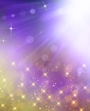 Glittery beautiful bokeh background Stock Photography
