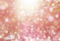 Glittery beautiful bokeh background Stock Photos