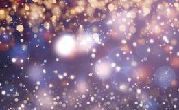 Glittery beautiful bokeh background Royalty Free Stock Photo