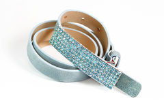Glittery belt Royalty Free Stock Image
