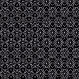 Glittery black seamless texture pattern. Glittery texture pattern in greyscale. abstract geometric hexagonal pattern with glitter texture for fabric and textile Stock Photo