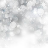 Glittery blue Christmas background Stock Image