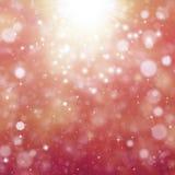 Glittery bokeh background Stock Image