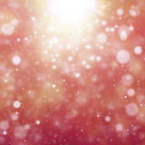 Glittery bokeh tło Obraz Stock