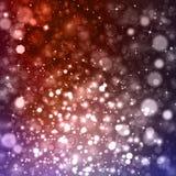 Glittery bokeh tło z gwiazdami Zdjęcie Royalty Free