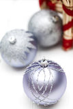 Glittery Christmas ornament ball Stock Photography