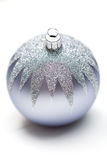 Glittery Christmas ornament ball Stock Image