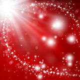 Glittery festive background Stock Images