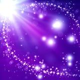 Glittery festive background Stock Photo