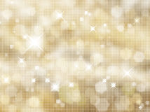 Glittery gold background Royalty Free Stock Photo