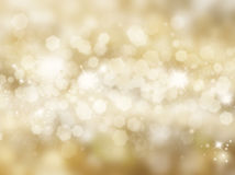 Glittery gold background Royalty Free Stock Images