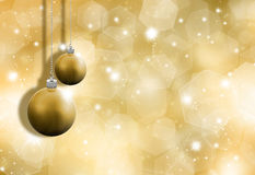 Glittery gold background Stock Image