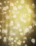 Glittery gold background with stars Stock Photo