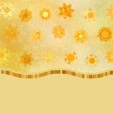 Glittery gold Christmas background. EPS 8 Stock Photo