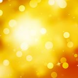 Glittery gold Christmas background. EPS 10 Royalty Free Stock Images