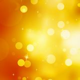 Glittery gold Christmas background. Stock Photography