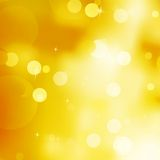 Glittery gold Christmas background. EPS 10 Stock Images