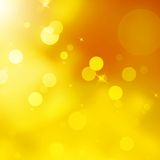 Glittery gold Christmas background. EPS 10 Stock Photography