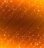 Glittery golden  festive background Royalty Free Stock Photos