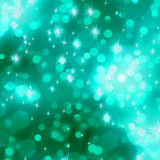 Glittery green Christmas background. EPS 8 vector file included Royalty Free Stock Images