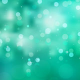 Glittery green Christmas background. EPS 8. Vector file included Stock Photos
