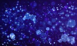 Glittery piękny bokeh tło Zdjęcie Stock