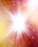Glittery piękny bokeh tło Zdjęcie Royalty Free